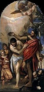 Paolo Veronese - Battesimo di Cristo