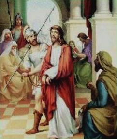 I Stazione: Gesù è condannato