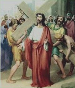II Stazione: Gesù caricato della croce