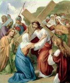 IV Stazione: Gesù incontra la sua SS madre