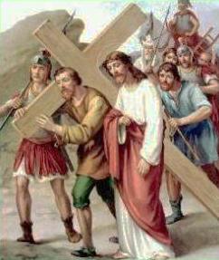 V Stazione: Gesù aiutato dal cireneo