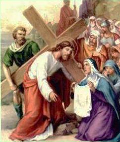 VI Stazione: Gesù asciugato dalla Veronica