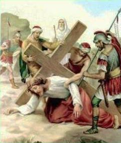 VII Stazione: Gesù cade per la seconda volta