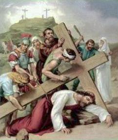 IX Stazione: Gesù cade per la terza volta