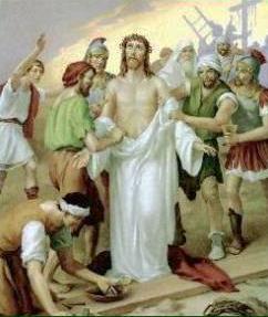 X Stazione: Gesù spogliato dalle vesti