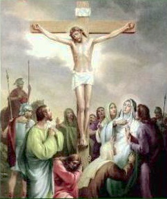 XII Stazione: Gesù morto in croce