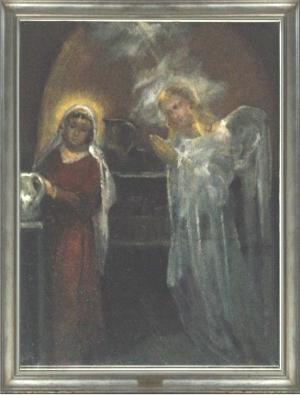 Edoardo Krumm - Annunciazione